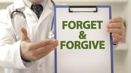 Doctor provoke patient to forget and forgive Footage