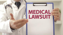 Doctor provoke patient to file medical lawsuit Footage