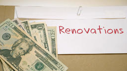 Renovations costs concept Footage