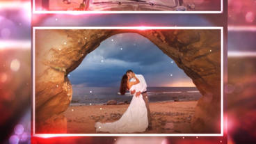 Glass Wedding After Effects Templates