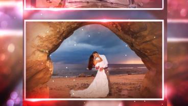 Glass Wedding Plantilla de After Effects