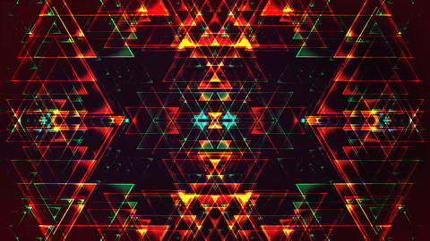 4K Abstract Triangles Backgrounds Footage