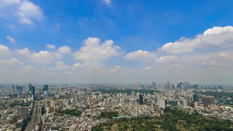 Walk in the air (Blue sky & cloud shape at Tokyo city) 画像