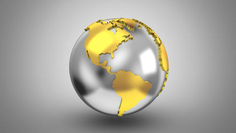 Creating a Rotating Globe Animation