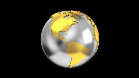 Creating a Rotating Globe Animation