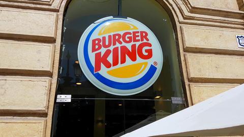 Burger King Sign Image