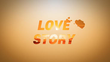 Love Story Slideshow Plantilla de After Effects