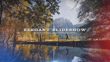Elegant Slideshow Plantilla de After Effects