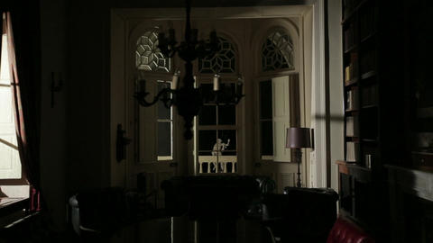 Antique dining room Footage