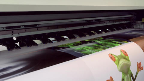 Printing large paper Live Action