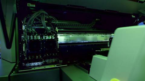 Printer control panel Live Action