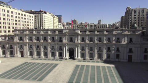 Presidential palace in city Live Action