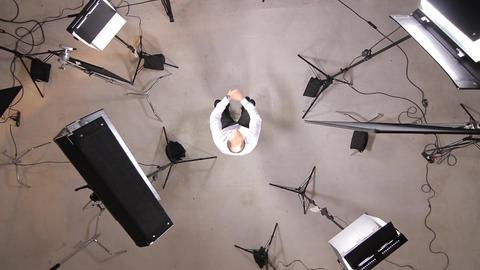 Interviewing man Footage