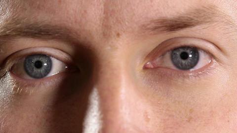 Blue eyed man Footage