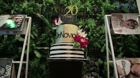 Anniversary cake for magazine Live Action