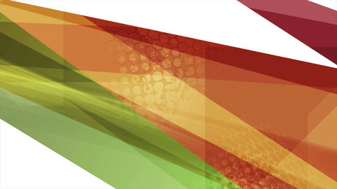 Bright tech abstract stripes video animation CG動画素材