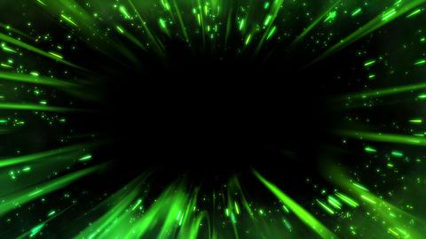 SHA Green Edge Effect Animation