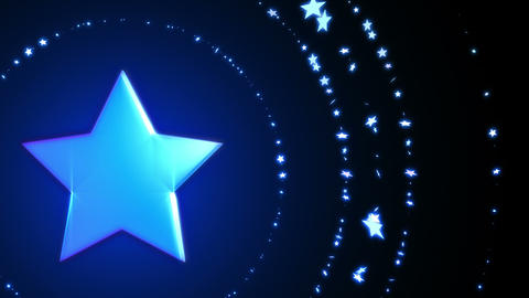 SHA Blue Star BG Image Christmas Animation