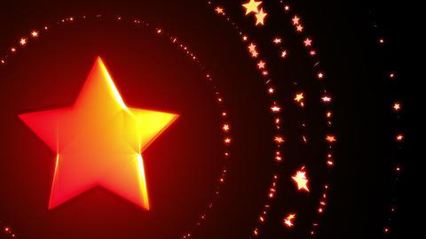 SHA Red Star BG Image Christmas Animation