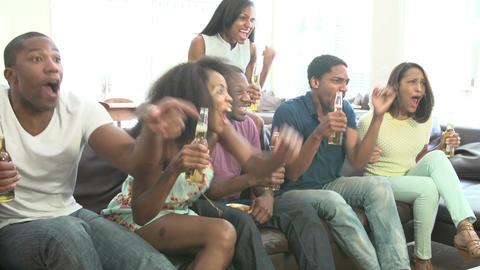 African American Student Celebrates Graduation Footage