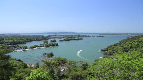 奥松島俯瞰 ビデオ
