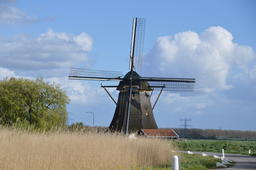 Windmill Around Abcoude Netherlands フォト