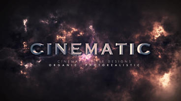 Cinematic Title Sequence After Effects Template