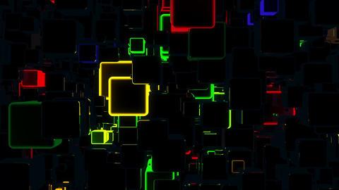 Glare Forms 4K 03 Vj Loop Animation