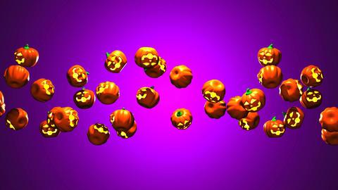 Jack-O-Lanterns On Purple Background 0
