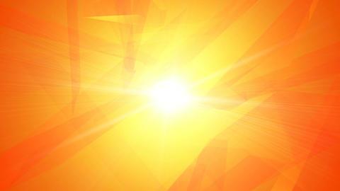 Orange shine Animation