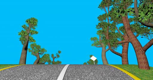 Road signs Footage