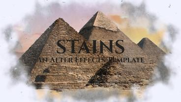 Stains After Effects Template