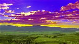 Colored Sky Footage