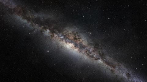 Milky Way Galaxy Footage