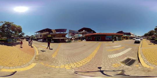 360Vr Puerto Misahualli Ecuador Central Park 360 Vr Spherical Video Footage
