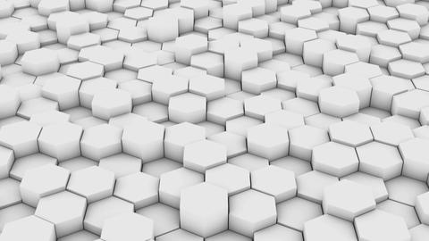 Network of hexagons3 Animation
