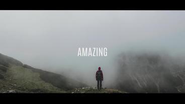 Dynamic Typographic Promo Premiere Pro Template