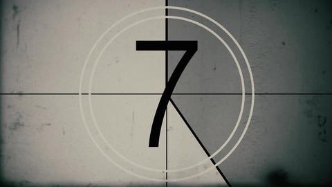 Vintage Film Countdown Archivo