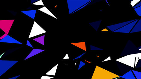 Neon Rays 4K 06 Vj Loop Animation