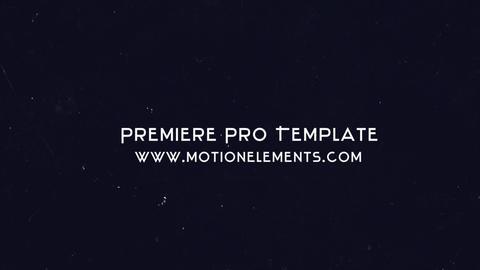 Glitch Logo Premiere Proテンプレート