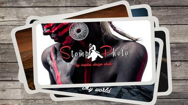 Fast Stomp Photo Opener Apple Motion Template
