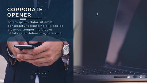 Corporate Opener After Effects Template