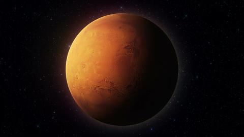 Mars Planet 02 ภาพเคลื่อนไหว