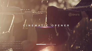 Sport Cinematic Opener เทมเพลต Premiere Pro
