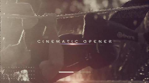 Sport Cinematic Opener Premiere Pro Template