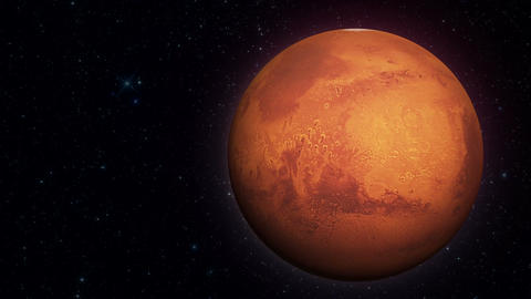 Mars Planet 01 ภาพเคลื่อนไหว