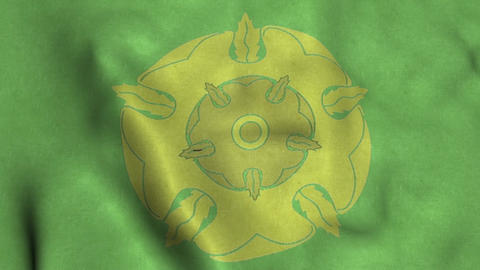 House Tyrell Flag Waving Animation