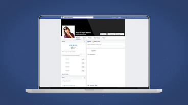 Facebook Laptop Intro - After Effects Template After Effects Template