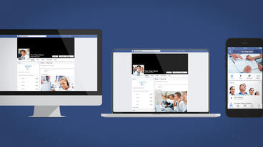 Facebook Multi Devices Presentation - After Effects Template After Effectsテンプレート