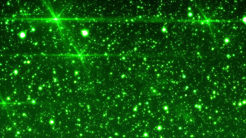 SHA Particle Rotation Green Animation
